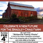 SUNDAY: Celebrate a new future for the Bradley-Craig Farm!