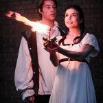 Outdoor performance of Romeo & Juliet in Fairwinds on July 16