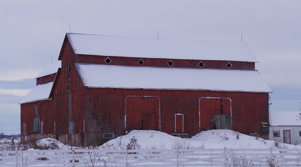 Bradley-Craig Barn on Hazeldean Road. November 2013.