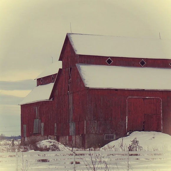 Bradley-Craig Barn on Hazeldean Road. November 2013. Photo by Glen Gower.