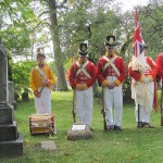 War of 1812 veteran Captain Bradley remembered at Beechwood Cemetery