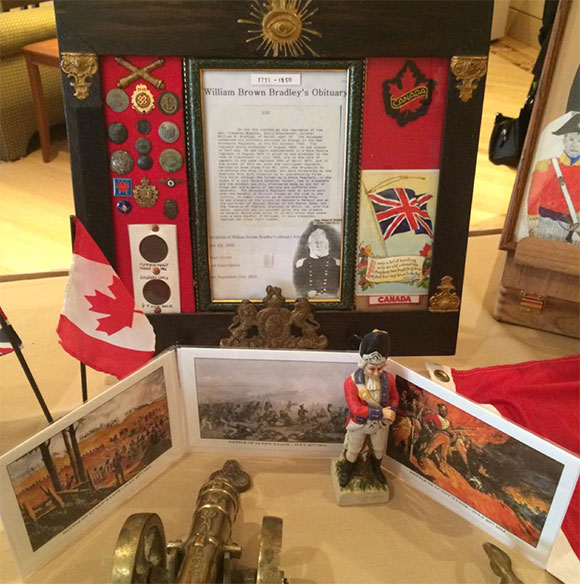 Historical items and memorabilia were on display at the event. Photo by Laura Young