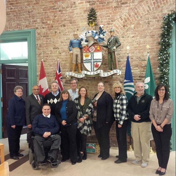 Community members who met with the mayor and councillor included Rosemary Brummell, Kyle Vezzaro, Tim Sheehan, Cathy Bureau, Kathleen Edwards, Tanya Hein, Cathy Skinner, Kevin Chappell, and Sabrina Kemp.