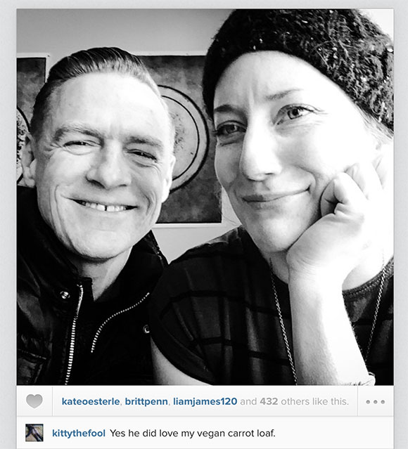 Bryan Adams and Kathleen Edwards