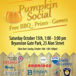 Pumpkin Social in Bryanston Gate neighbourhood this Saturday