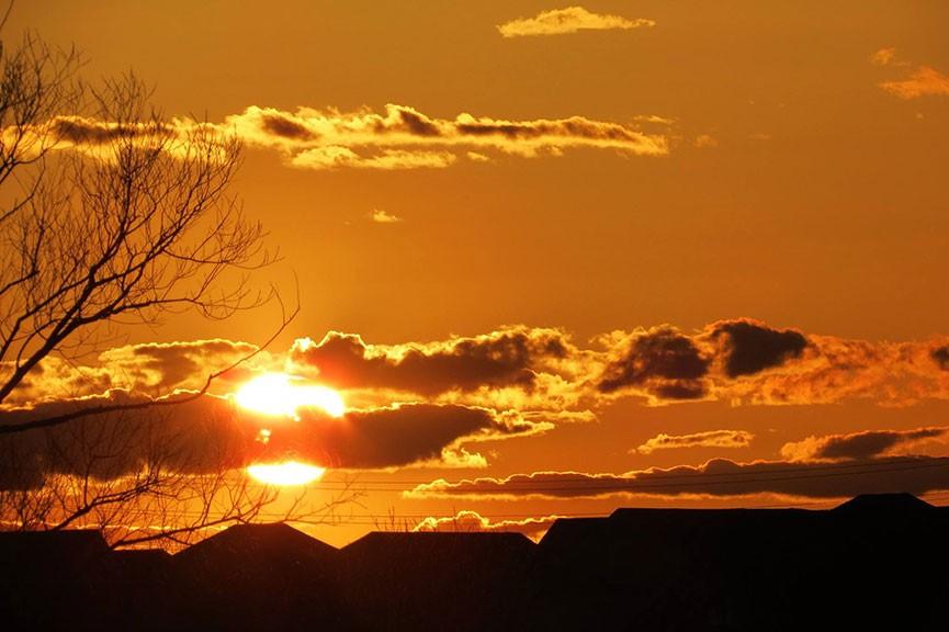 Stittsville sunset. Photo by Stephen Buddha Leafloor.