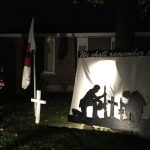 Remembrance Day display pays tribute to veterans with PTSD