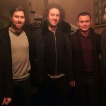 Calgary Flames players stop in at Cabotto's for dinner