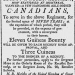 100th Regiment seeks new recruits in Ottawa, just like in 1808