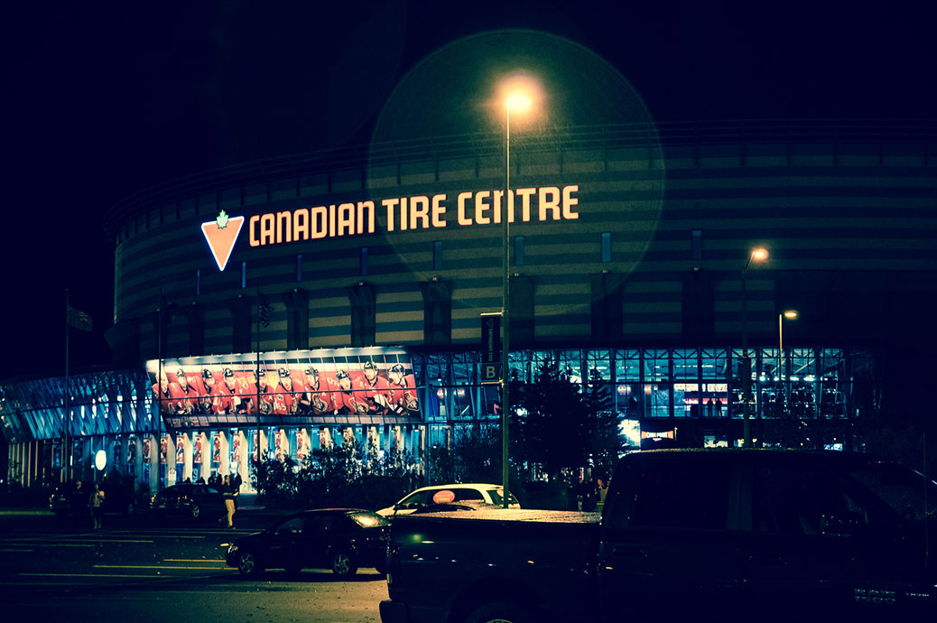 Canadian Tire Centre / Photo by Aaron Toth. (via Flickr)