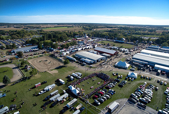 The 2015 Carp Fair. Photo by Peter Tremblay / Ottawa Drone Services