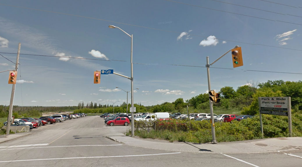 Carp Road Park and Ride. Photo via Google Maps