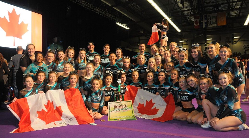 Photo taken at the Kicks Competition in Montreal on March 20th after the Finback and Pacific Sharks won their bids to represent Canada at the 2016 Worlds! Back Row: Kelly McCarney, Missy Prosper, Alexa Hadley, Jessica Gignac, Hannah Yeatman, Brooke Rousselle, Leo Tremblay, Austin Dagg, Paige Gervais, Trevor Schlarb, Stephanie Daoust, Vanessa Saniforth, Mackenzie Foulkes, Jacqueline Snow Middle Row: Paige Maclellan, Kurtis Lee, Claire Lanthier, Sophie Finucan, Dianna McAllister, Kaitlyn McCaughan, Abigail Stewart, Taylor St Louis, Kaitlyn Morgan, Casey Campbell, Victoria Rousselle, Anneka Ceresia Front Row: Julia Rachkovska, Rachel Latreille, Lily Angus, Lauryn Postma, Mckenna Clark, Katelyn Maclellan, Kennedee Abson, Nicola Christie, Amanda Mullan, Lauren Carroll, Lauren Edwards, Kaylea Donovan, Denise Guertin, Emma Caldwell, Jessica Samra, Madeleine Morris, Jenna Arbuckle Missing: Jordyn Postma Photo taken by Claire McCaughan