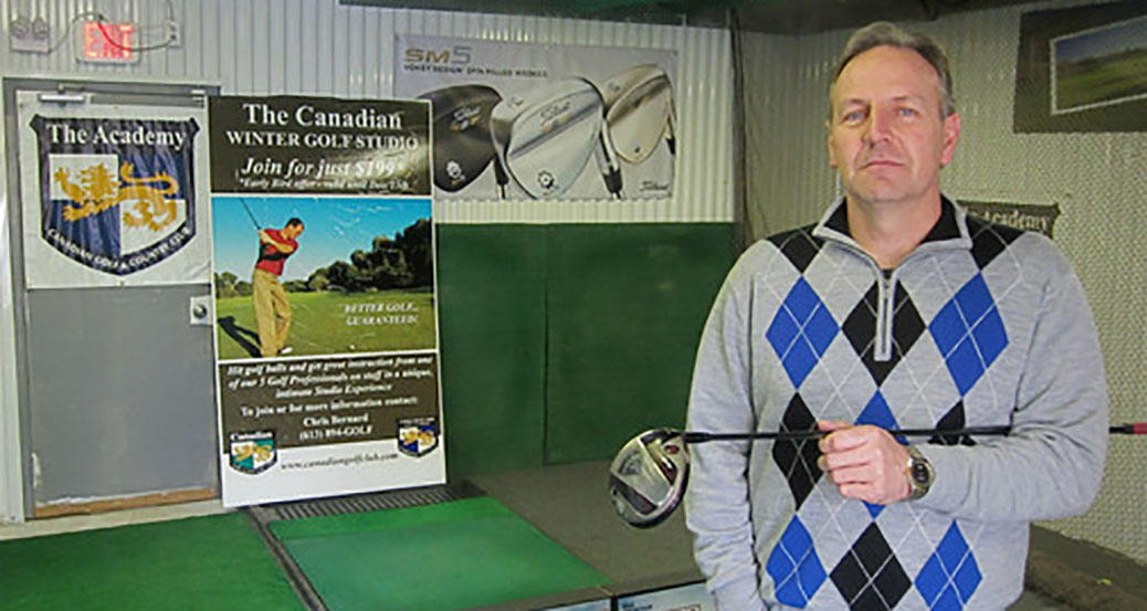 Chris Bernard has more than 40 years of experience in the golf industry. Photo by Ron Patey.
