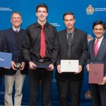 LOCAL HEROES: Father and son honoured for lifesaving rescue