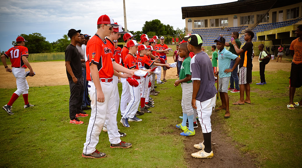 The Los Hacheros baseball team from Stittsville/Kanata recently travelled to the Dominican Republic for a week of friendly games with Dominican and Haitian teams.