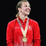 Erica Wiebe wins another gold at the Commonwealth Games