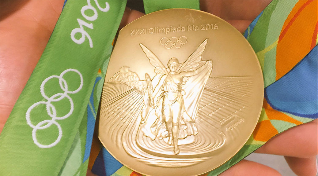 Wiebe's Olympic gold medal