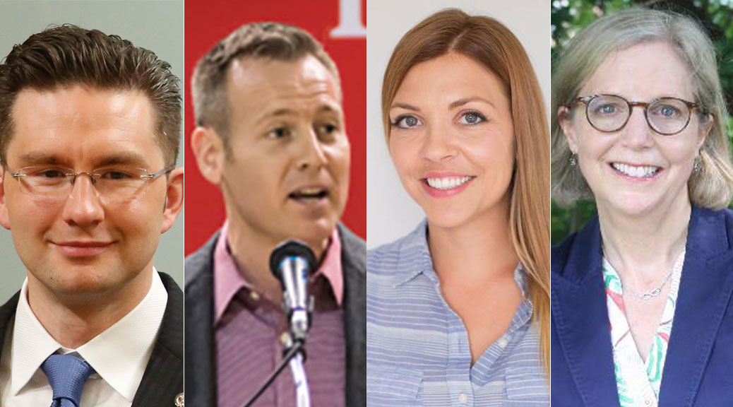Candidates in Carleton riding, which includes Stittsville: Poilievre, Rodgers, Larocque, Coyne