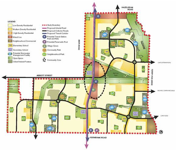 Fernbank Community Design Plan Map