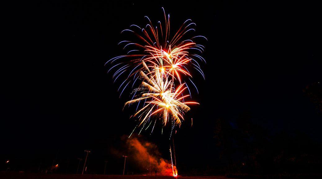 Canada Day 2017 fireworks. Photo by Adam Frank.