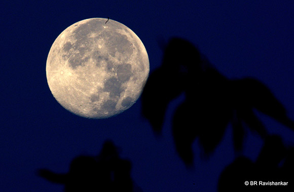 September Full Moon. Photo by B. R. Ravishankar.