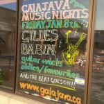 THE BEAT GOES ON: Gaia Java hosts Gilles Babin on Friday