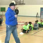 LINKED: Garth Brooks runs a ball hockey clinic at Sacred Heart