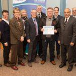 Gerry Gray receives Snow Angel award