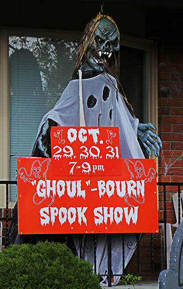 The Ghoulbourn Spook Show on Cherry Drive