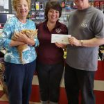 Global Pet Foods donates over $1,700 to Lanark Animal Welfare Society