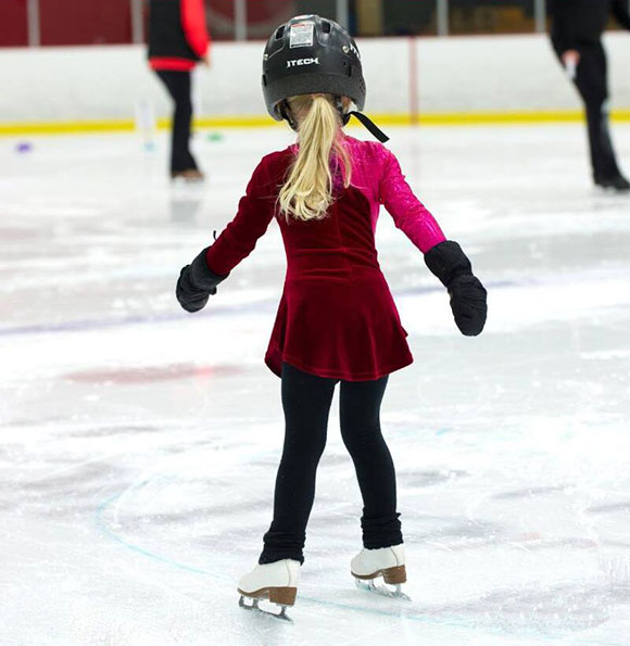 Learning to skate with the Goulbourn Skating Club