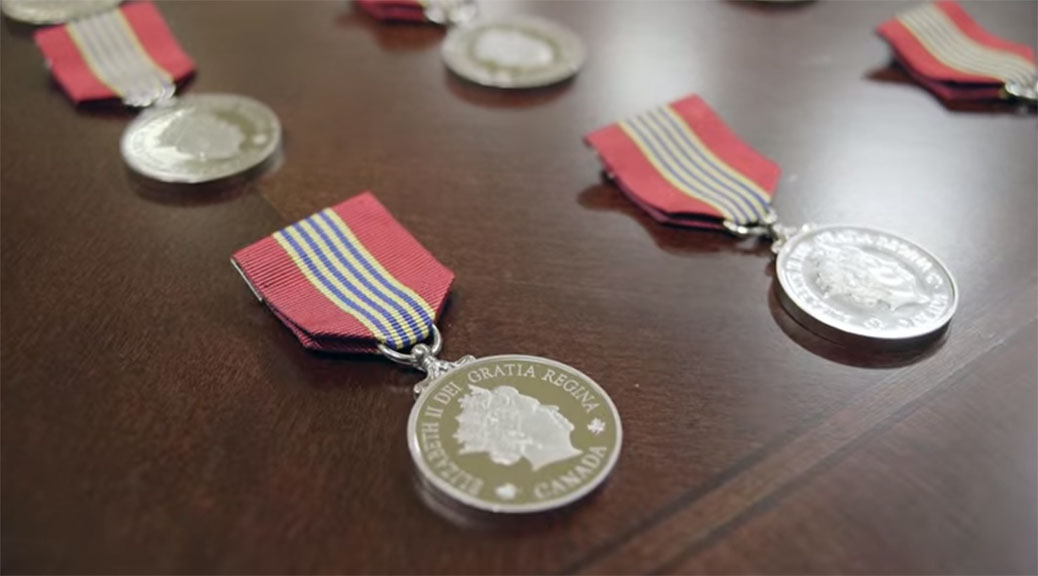 Governor General Volunteer Medals