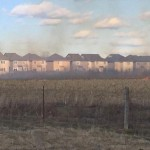 Grass fire near Terry Fox and Cope near the Walmart
