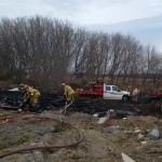 Ottawa Fire fights grass fire south of Richmond