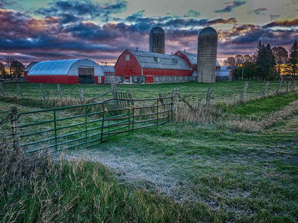 """This is a shot this morning of that wonderful farm outside Stittsville on the way to Richmond on Huntley Road."" Photo by Barry Gray."