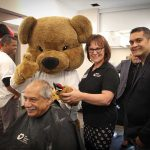 PHOTO: Shad gets shaved