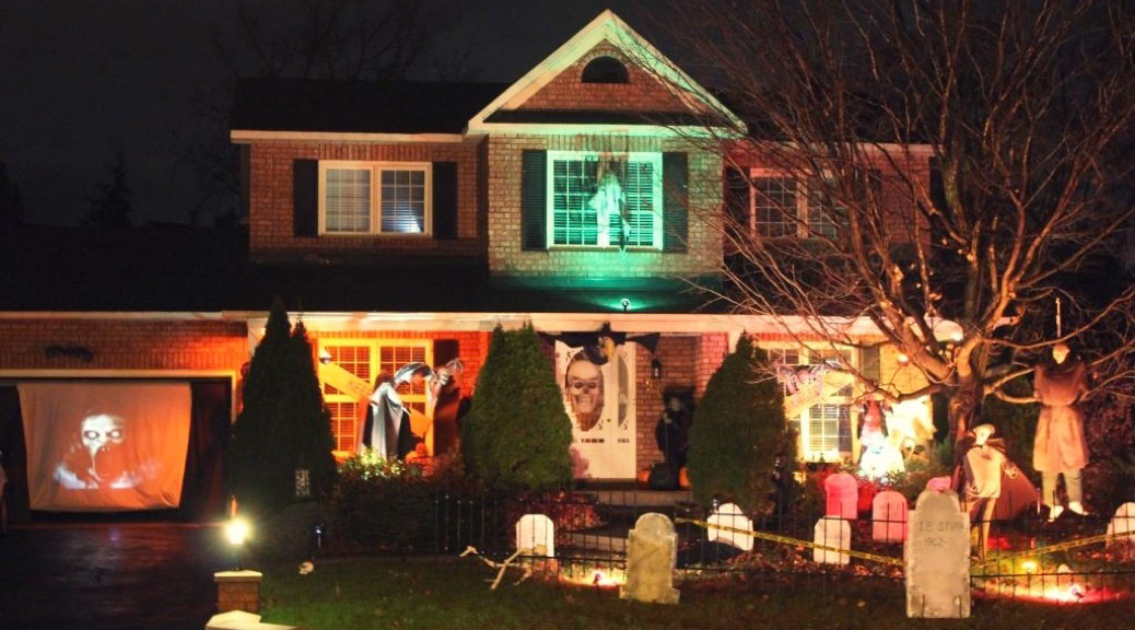 Hobin Street Halloween Display