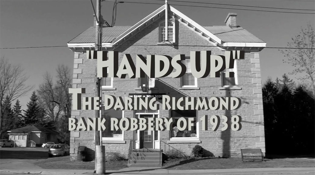 Hands Up! The daring Richmond bank robbery of 1938