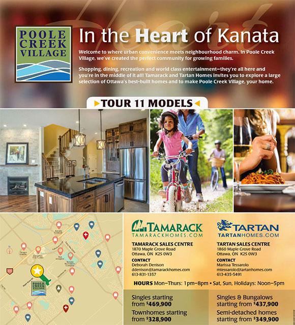 Heart of Kanata full-page ad