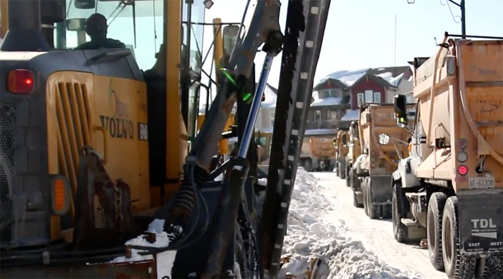Hien Hoang - snow removal video