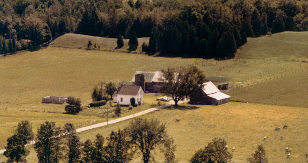 The Hobbs family farm at Lot 12, Concession 6, Goulbourn Township, Carleton County -- now known as Mansfield Road just outside of Stittsville. The Hobbs have been farming there since 1860.