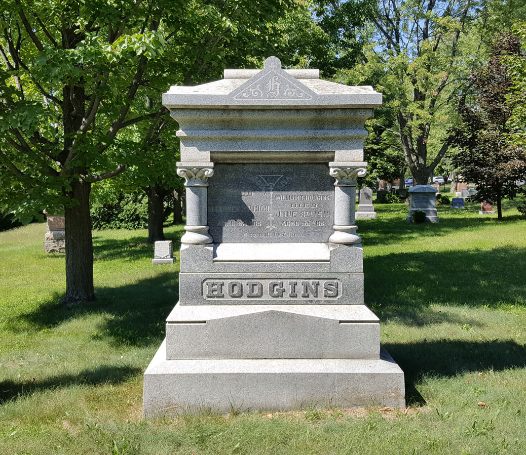 William and Anna are buried in the cemetery at Maple Grove and McCurdy