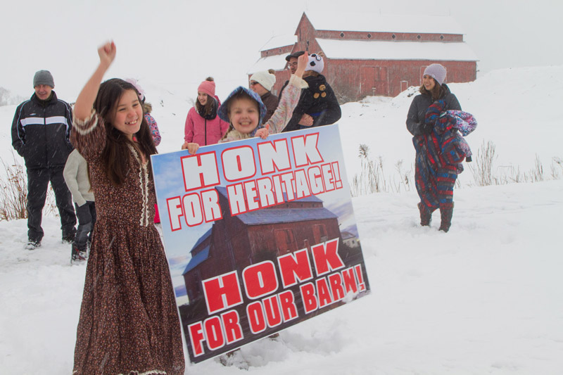 Honk for heritage! Photo by Rob Hambly.