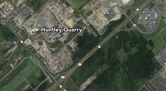 Huntley Quarry (via Google Maps)