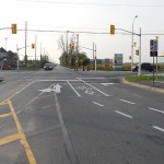 Dedicated left turn lane coming soon to Huntmar-Maple Grove