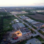PHOTO: Iber Road from above at night