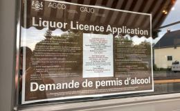 quitters liquor licence application
