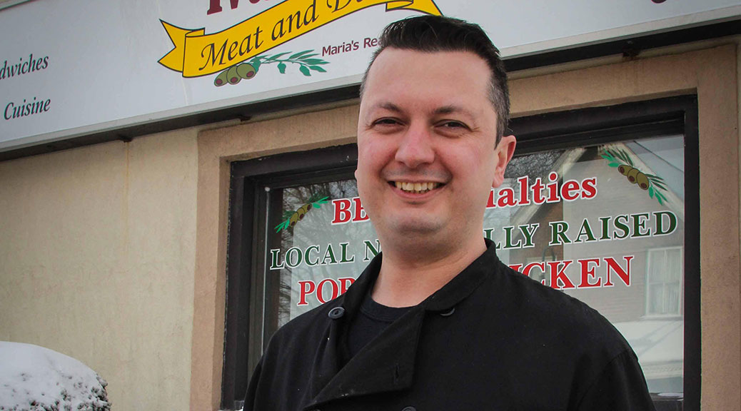 Ivan Saric, owner of Ivan's Meat and Deli. Photo by Barry Gray.