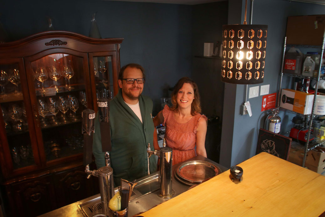 Kevin Conway and Alli Pearce, co-owners of The Jack Ketch on Stitttsville Main. Photo by Barry Gray.